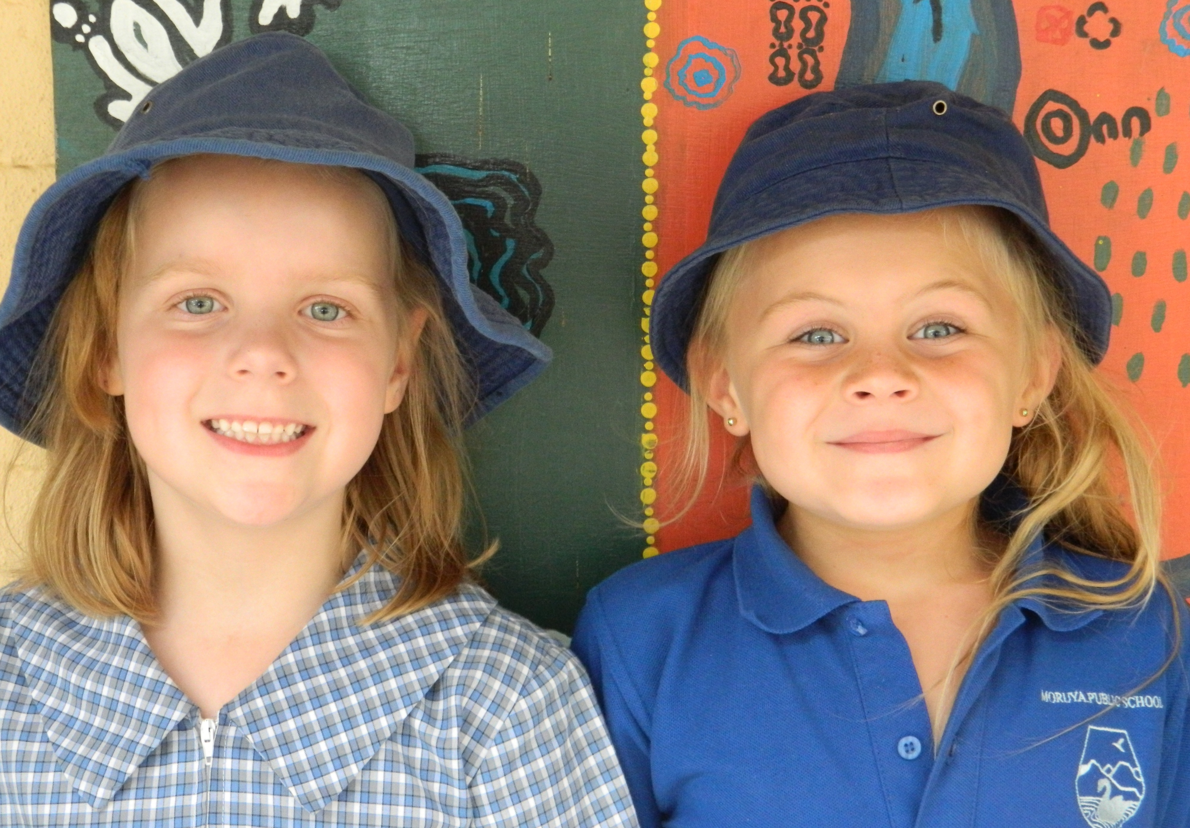 Hats are an important part of the school uniform